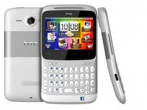 HTC pourrait faire fort chez les jeunes avec son ChaCha équipé d'un clavier complet.