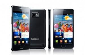 Le Samsung Galaxy S II.