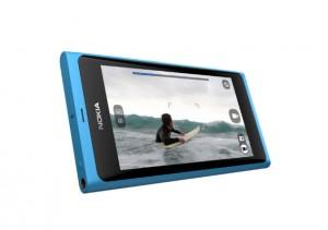 Le Nokia N9, d'abord un immense écran tactile...