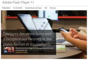 Adobe Flash va se concentrer sur le HTML5.