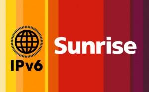 En pionnier, Sunrise lance en Suisse le protocole IPv6 pour les entreprises.