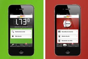 L'application Migrol pour iPhone.