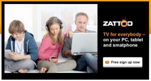 La TV selon Zattoo: moins de quatre francs...