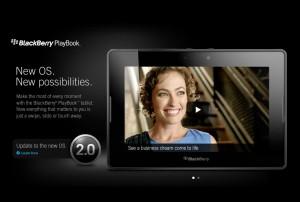 La PlayBook se met à jour avec l'OS 2.0.