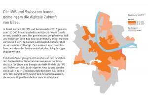 Fibre optique à Bâle: la coopération IWB-Swisscom.