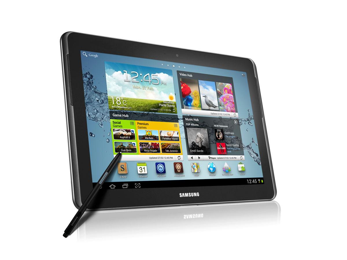 Tablette Avec Stylet de Samsung Avec un Stylet