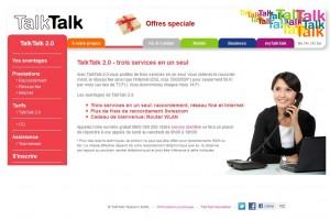 Talk Talk 2.0: surfer et téléphoner pour 49 francs par mois.