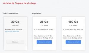 Google Drive ou la course à la rentabilité.