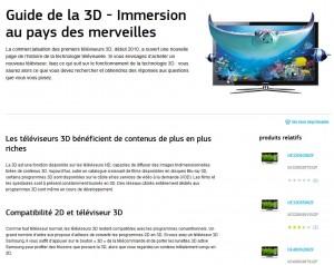 TV 3D: un univers si complexe que Samsung propose un guide complet...