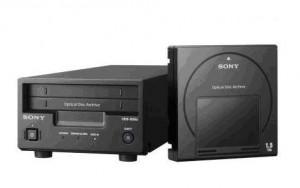 Le Sony Optical Disc Archive: un lecteur avec une cartouche optiqu