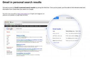 La recherche globale selon Google.