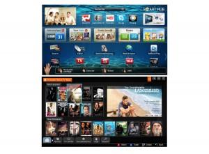 SwissTV sur les téléviseurs Samsung.