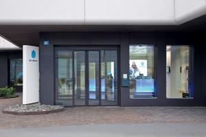 L'entrée du siège d'UPC Cablecom à Zurich.