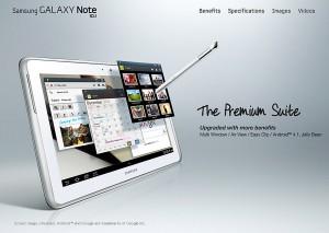 Samsung: bientôt le roi des tablettes?