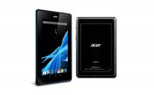 L'Acer Iconia Tab B1 à 119 euros.