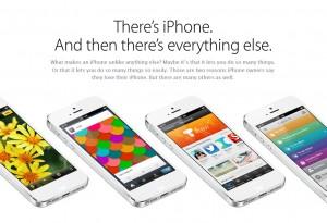 Apple souligne, à juste titre, certains points forts de l'iPhone 5, mais oublie quelques