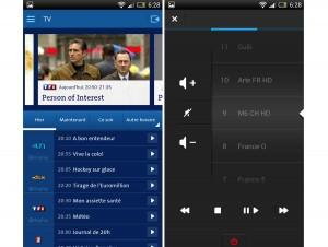 Swisscom TV pour Android.