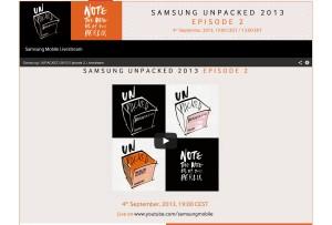 Samsung à l'IFA 2013 de Berlin.