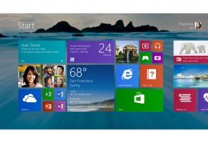 Windows 8.1 fonctionne aussi sur 7 pouces...