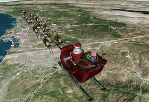 Le père Noël de Microsoft.