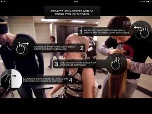 SwissTV pour iPad.