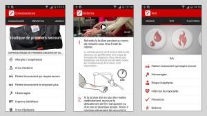 Premiers secours de la Croix Rouge: l'application pour sauver des vies.