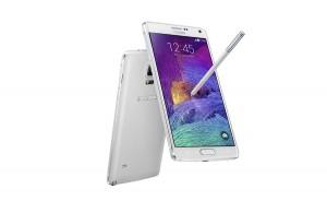 Le Samsung Galaxy Note 4.