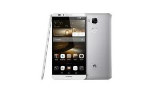 Le Huawei Ascend Mate 7. Tout en métal.