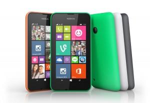 Le Nokia Lumia 530 peut recevoir deux SIM.