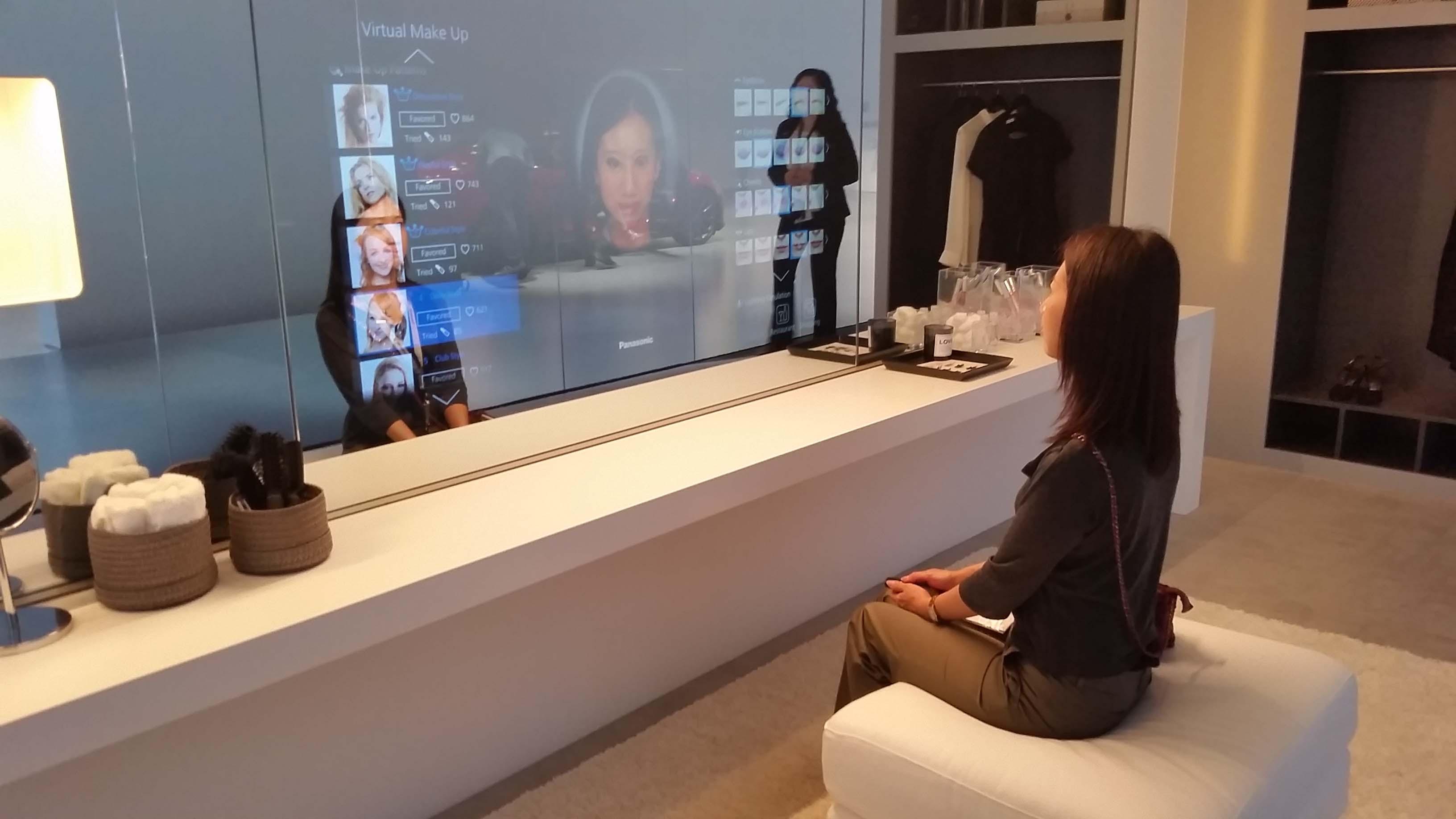 Ifa 2014 la r alit virtuelle dans votre chambre coucher for Miroir dans chambre a coucher