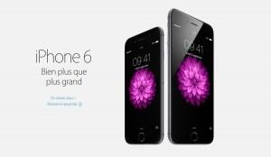 L'iPhone 6 dès 759 francs en Suisse.