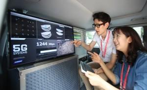 5G: nouveau record pour Samsung.