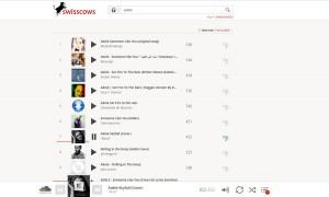 Swisscows offre de la musique en streaming.