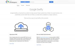 Google Swifty pour migrer une pub Flash vers du HTML5.
