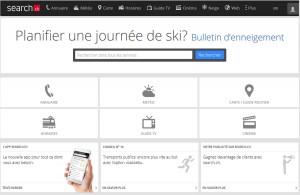 Un nouveau design pour search.ch.