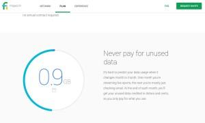 Google Project Fi: pour ne payer que les données utilisées.