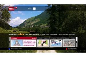 Le HbbTV disponible sur Swisscom TV 2.0.