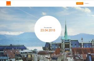Orange présentera sa nouvelle marque le 23 avril 2015.