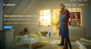 Le chevalier Swisscom veille sur votre domicile.