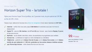Attention: il faut toujours rajouter aux prix affichés la taxe de base d'environ 30 francs...