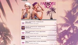 Paradise Boat, premier partenaire d'ID Ticketing.