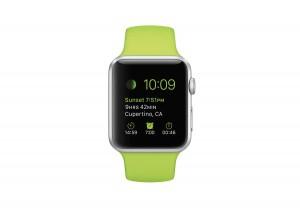 L'Apple Watch n'est pas étanche, même en version sport...