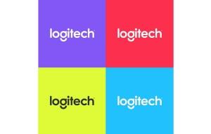 Quelques déclinaisons du nouveau logo de Logitech.