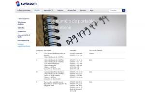 Des 075 chez Swisscom pour des numéros faciles à retenir.