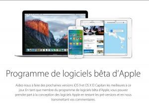 «Toutes les versions bêta publiques des logiciels font partie des données Apple confidentielles.»
