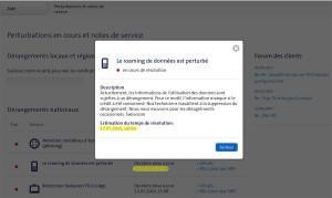 Roaming: cockpit de Swisscom ne fonctionne pas chez certains abonnés.