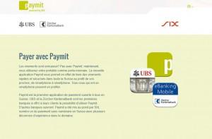 Paymit sera en concurrence avec Twint de La Poste.