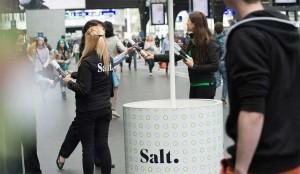 Salt: un opérateur très urbain.