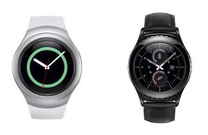 Les Samsung Gear 2 et Gear 2 classic.
