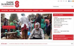 L'action Népal de la Chaîne du Bonheur.